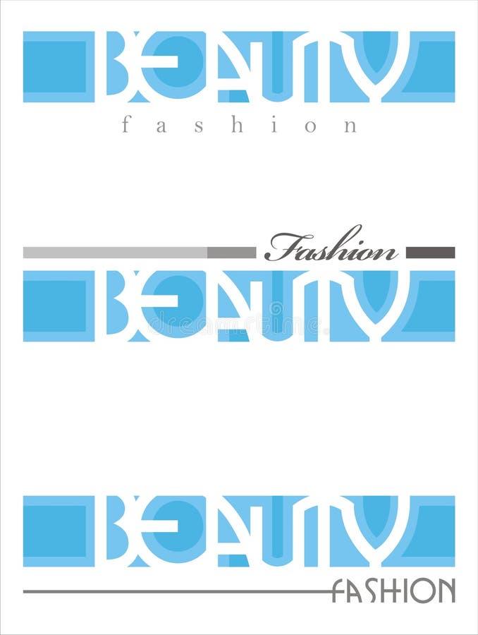 Beauty fashion saloon text