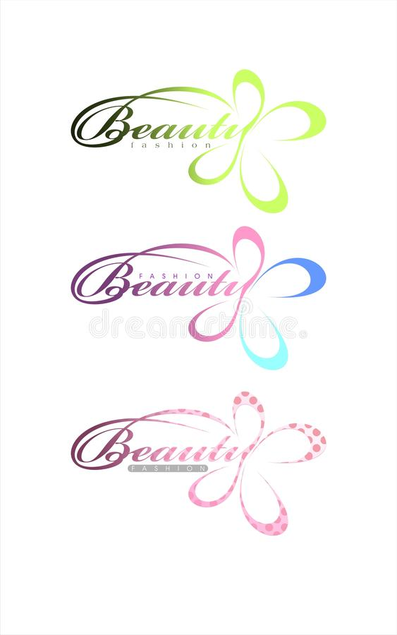 Download Beauty fashion text stock vector. Image of advertising - 10425008