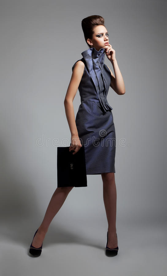 Download Beauty - Fashionable Young Slim Female Posing Stock Photo - Image: 23531600