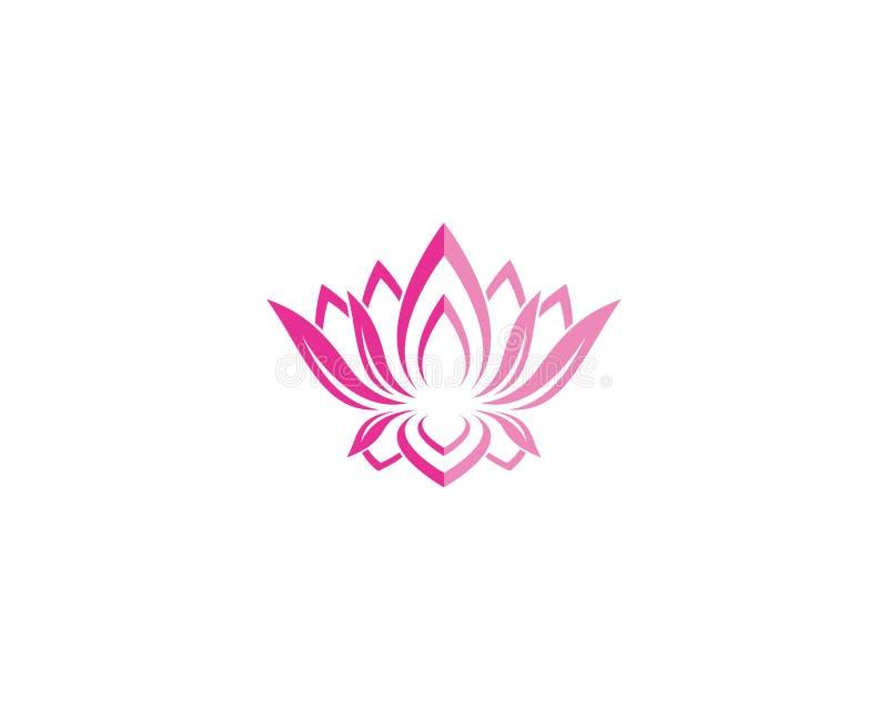 Beauty flower logo illustration vector illustration
