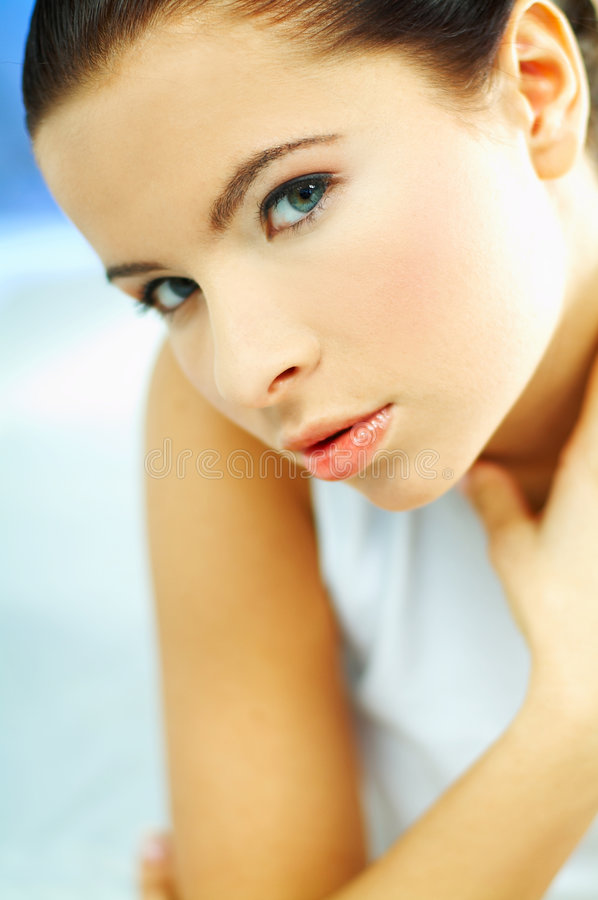 Download Beauty and Fresh stock image. Image of lashes, health, pupil - 715813