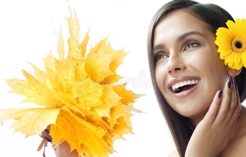 beauty front make mirror room up woman young στοκ εικόνα με δικαίωμα ελεύθερης χρήσης