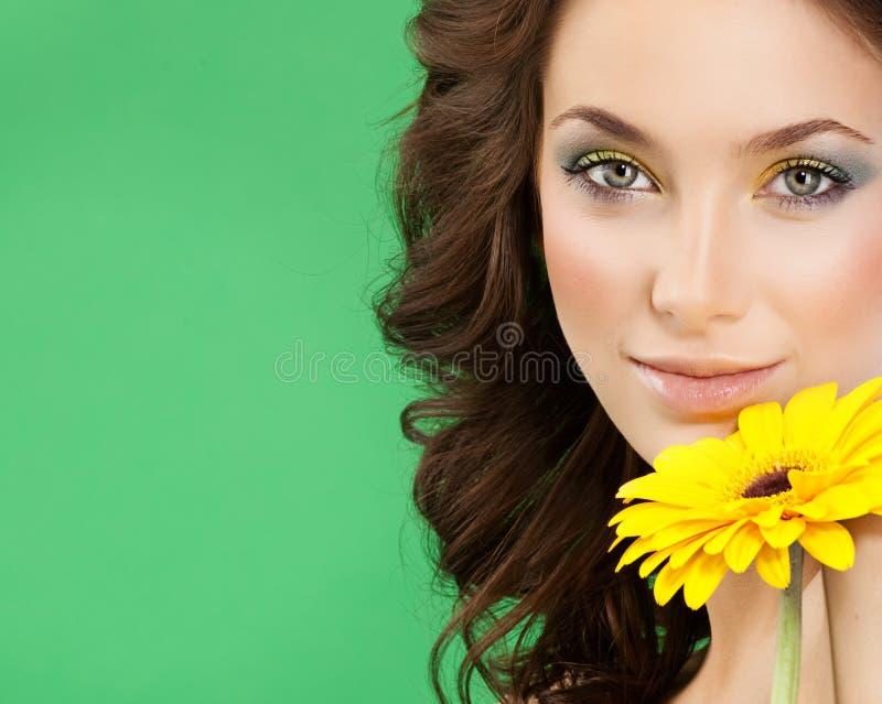 beauty front make mirror room up woman young στοκ εικόνες με δικαίωμα ελεύθερης χρήσης