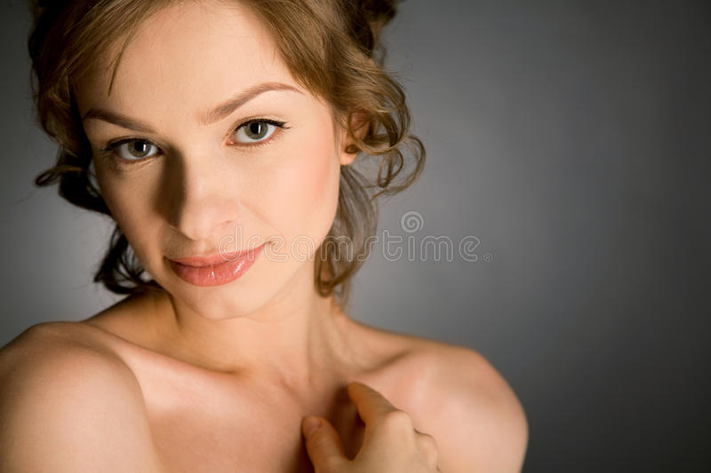 Beauty girl stock photos
