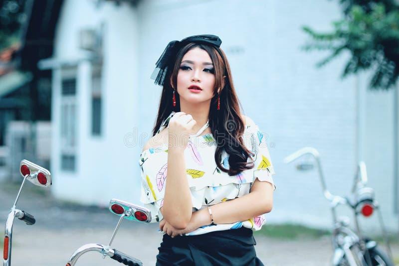 Beauty, Girl, Fashion Accessory, Black Hair stock photo