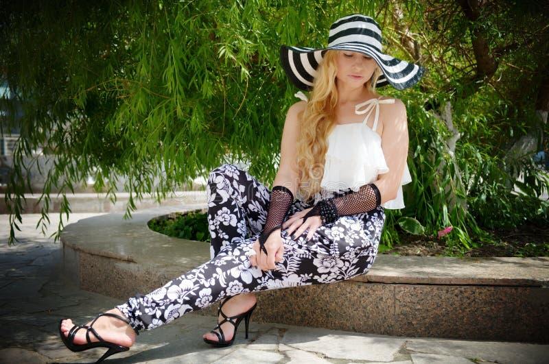 Beauty, Girl, Fashion, Leg royalty free stock image
