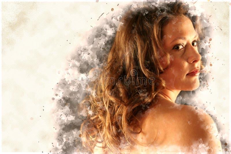 Beauty, Girl, Human, Long Hair royalty free stock photo