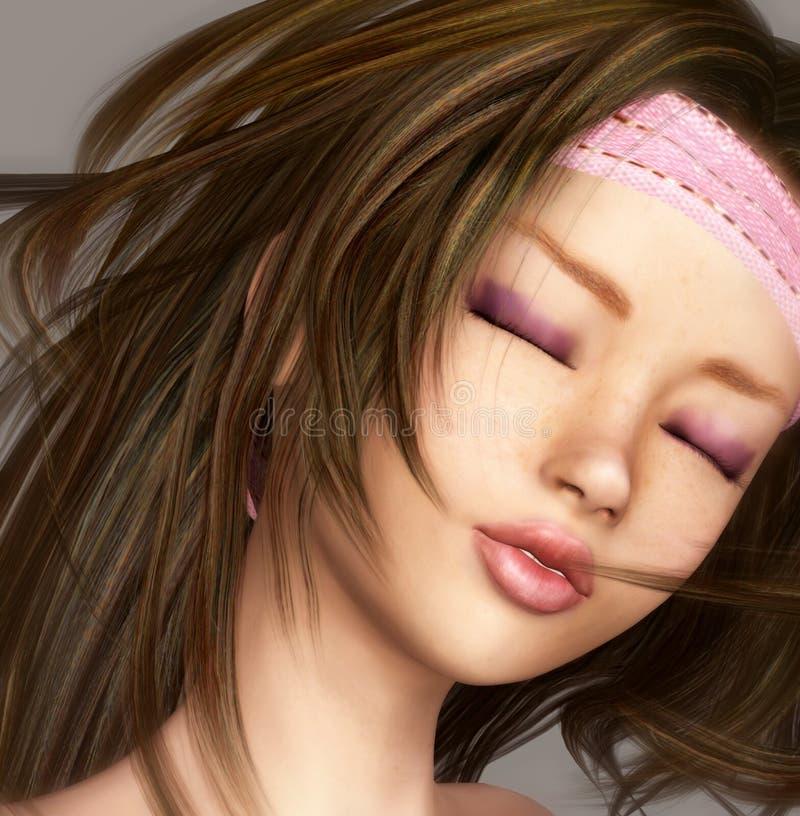 Beauty Girl Portrait Stock Image