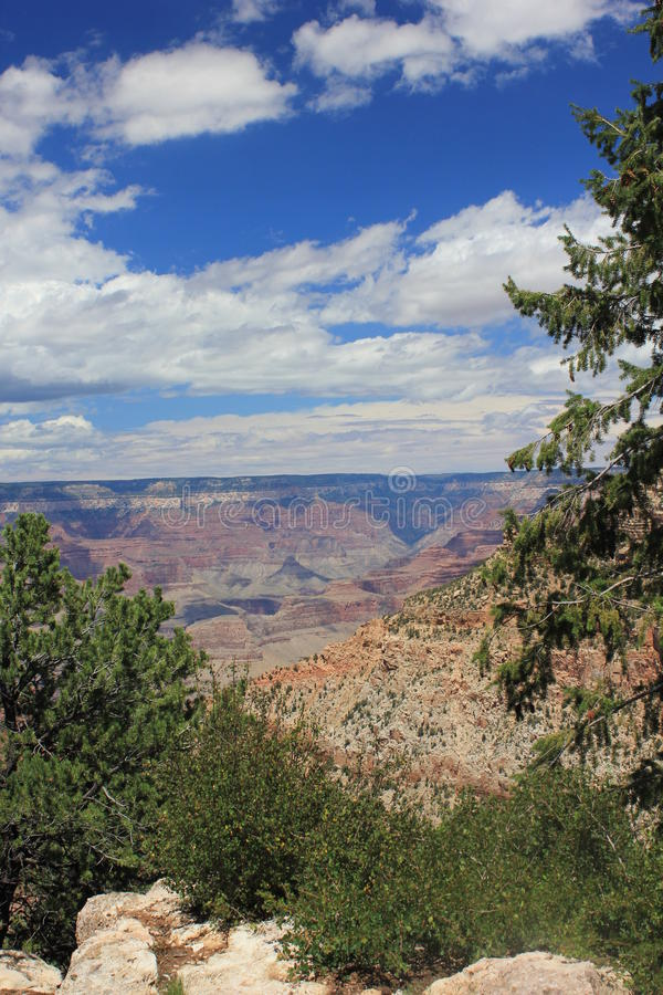 The beauty of Grand Canyon. Grand Canyon National Park, a powerful and inspiring landscape, overwhelms the senses through its immense size.nA unique combinations stock photos