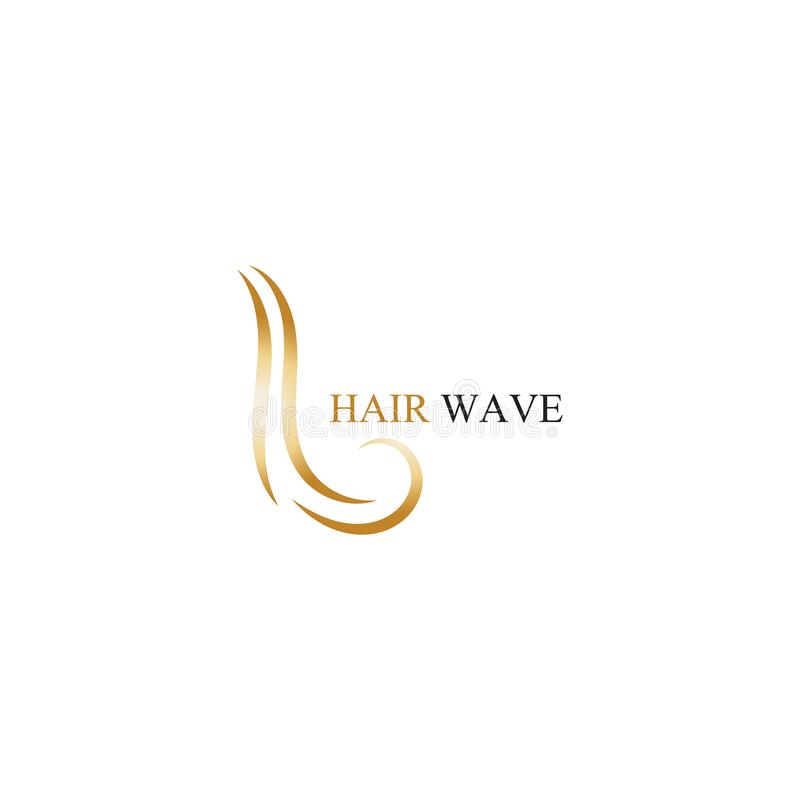 Set Beauty Hair Logo Vector Template . Stock Illustration