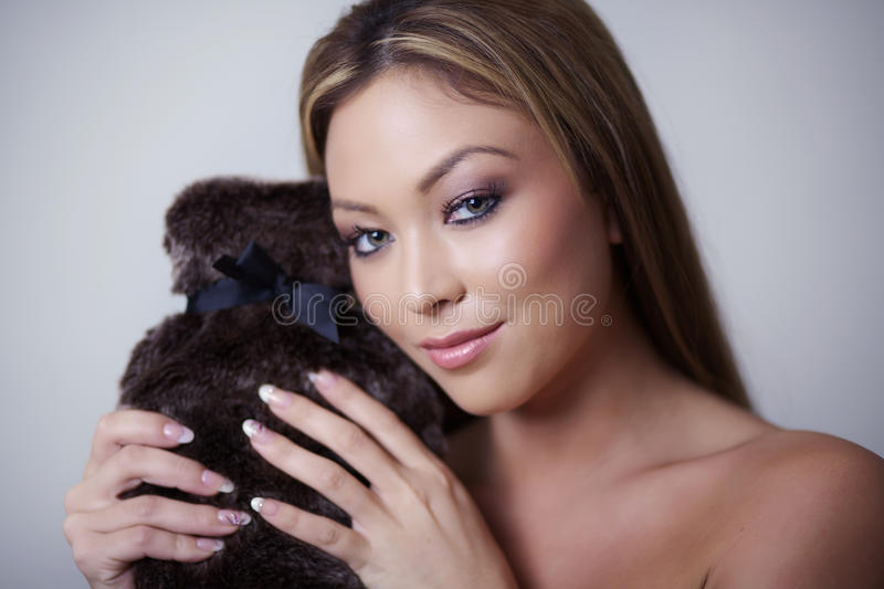 Download Beauty head shot stock image. Image of cosmetics, person - 25141511