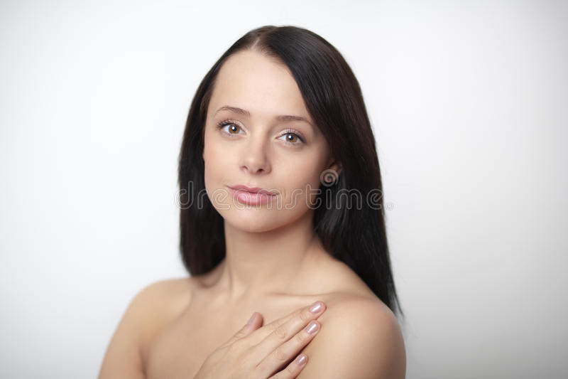 Download Beauty head shot stock image. Image of adult, portrait - 26378493