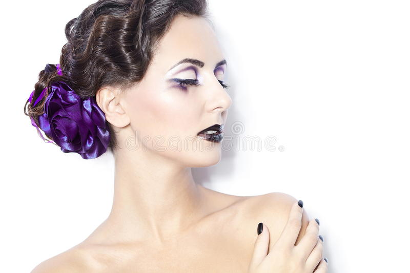 Beauty And Health Cosmetics And Makeup Stock Photography