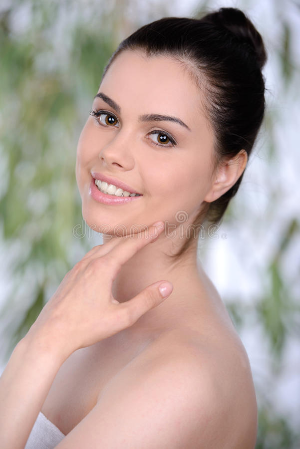 Download Beauty and Health stock photo. Image of hear, naked, pointing - 41776136