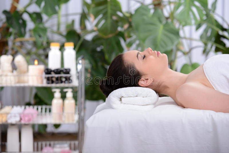 Download Beauty and Health stock photo. Image of beautiful, massaging - 41776224