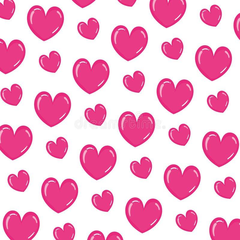 Beauty heart romance symbol background. Vector illustration vector illustration