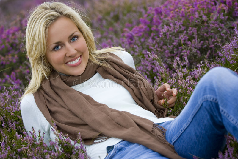 beauty heather στοκ εικόνα με δικαίωμα ελεύθερης χρήσης