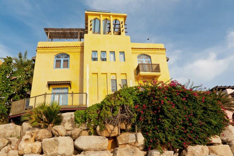 Hotel Resort Near Beach Royalty Free Stock Photos