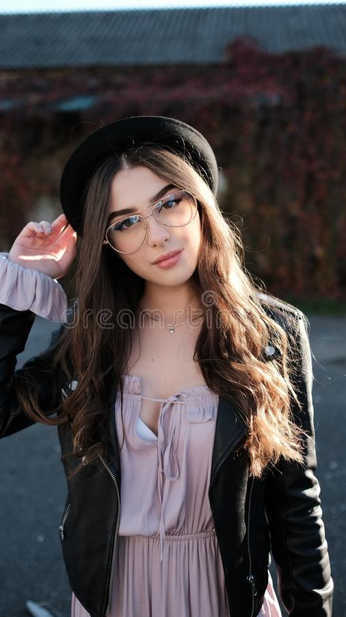 Beauty, Human Hair Color, Girl, Fashion Accessory stock image