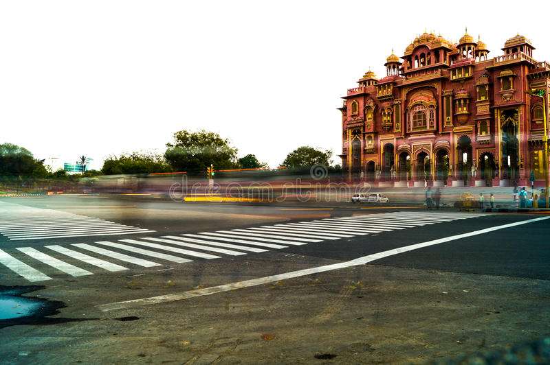 beauty of jaipur royalty free stock images