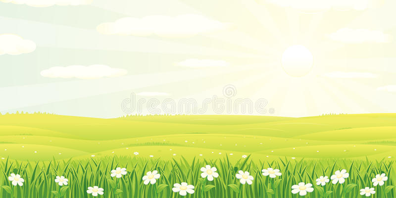 Download Beauty Landscape stock vector. Image of beauty, cloud - 18429990