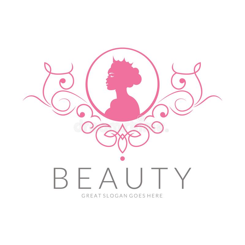 Beauty Logo. Vector Logo Design For Beauty Salon, Hair