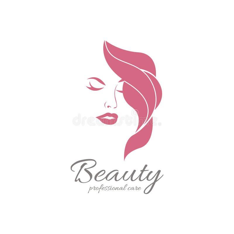 Beauty Logo Vector Logo Design For Beauty Salon Hair Salon Cosmetic Stock Vector Illustration Of Cosmetic Trend 109491114