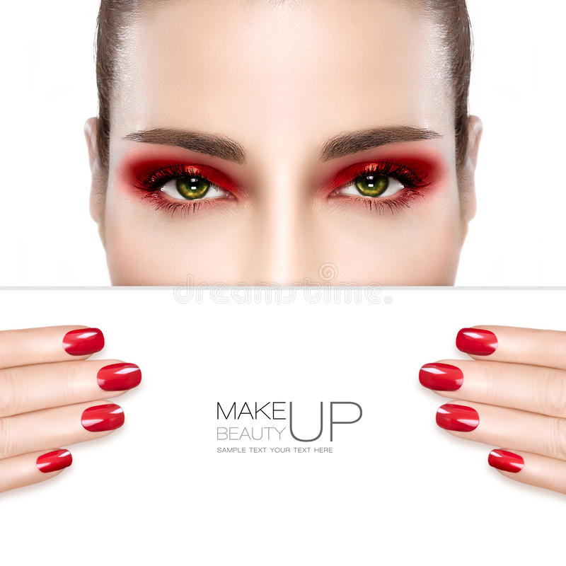 Beauty Makeup And Nail Art Concept Stock Photo - Image of moisturize ...