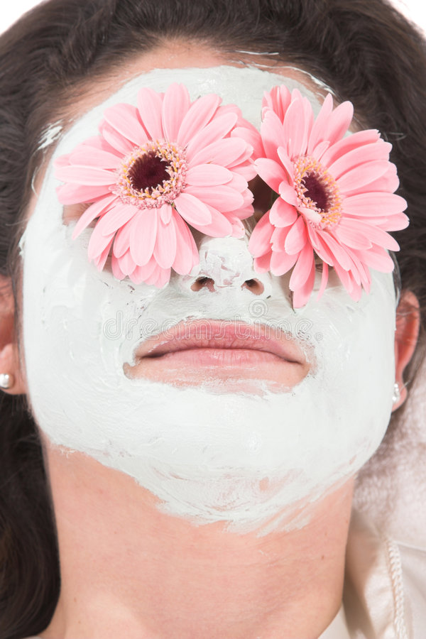 Beauty mask stock images