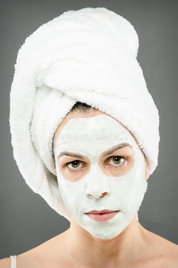 Beauty Mask Portrait royalty free stock photo