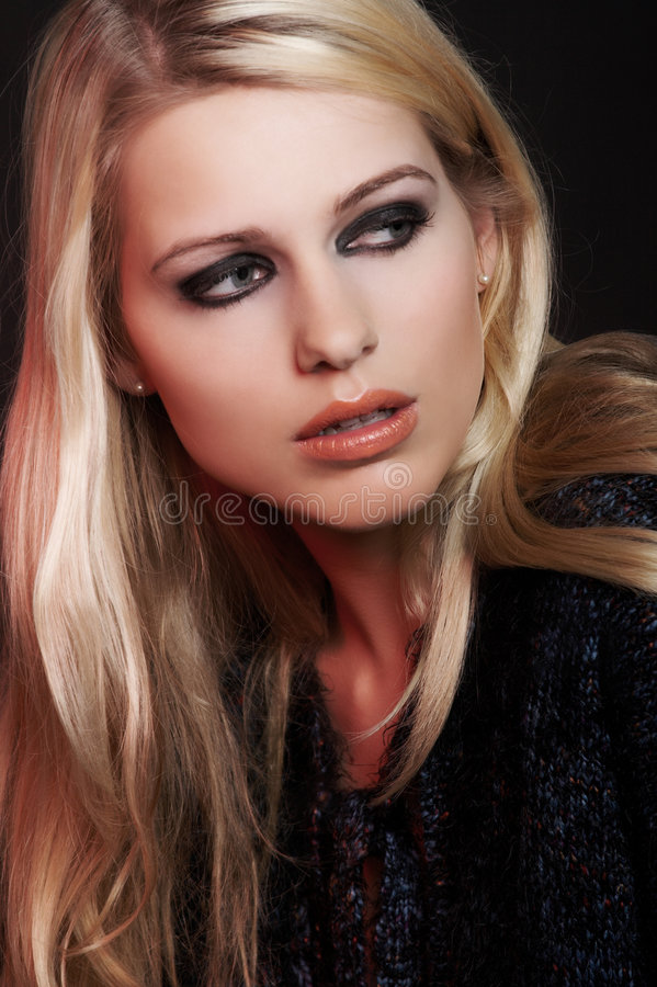 Download Beauty Miriam1. stock photo. Image of gold, nova, blonde - 2237918