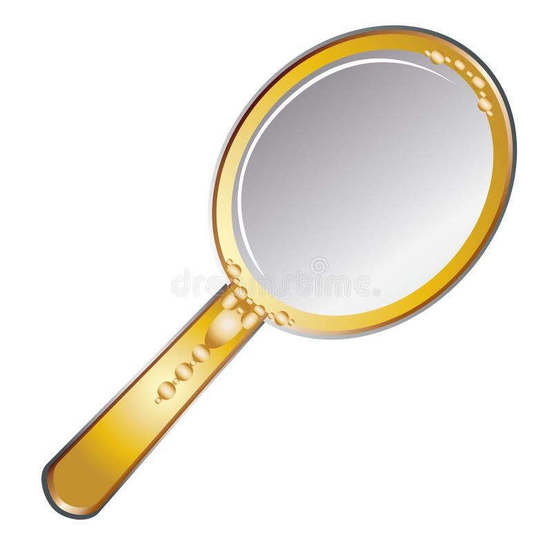 Beauty mirror stock illustration