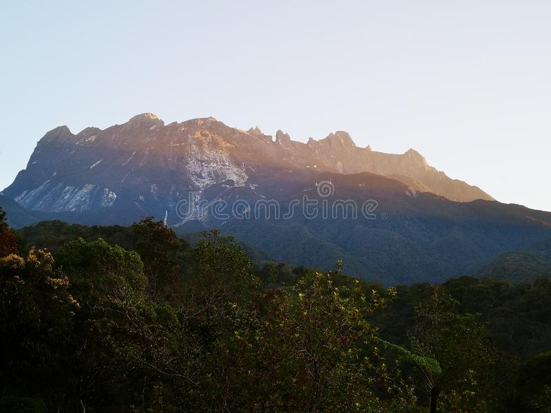 The beauty of Mount Kinabalu National Park, Sabah. Borneo. royalty free stock photography