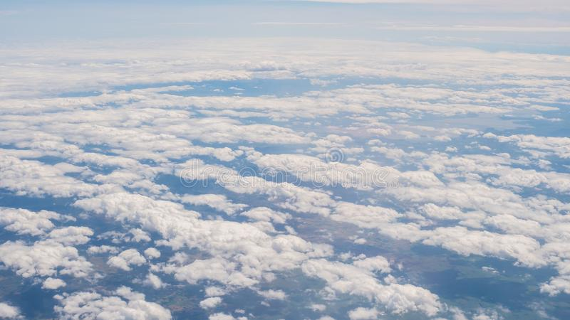 Beauty in nature sky and clouds look form plane. Beauty in nature sky and clouds form plane royalty free stock images