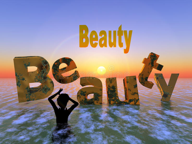 Beauty Never Lasts Stock Images