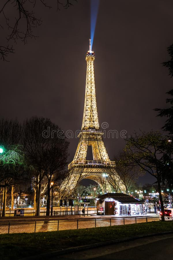 Beauty in the night stock images