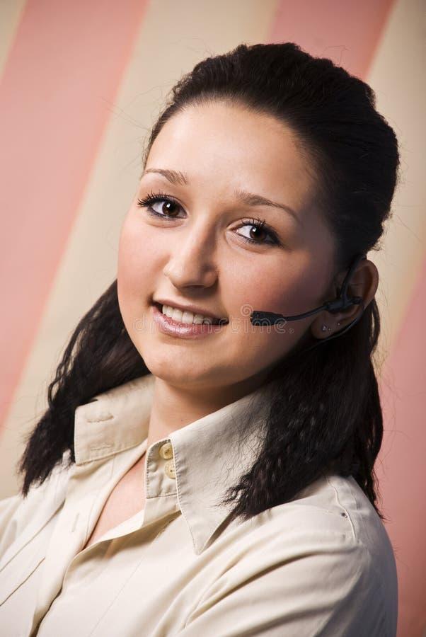 Beauty Operator Woman Stock Photos