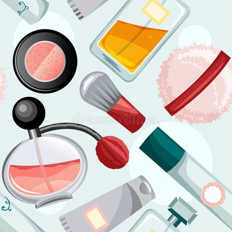 Download Beauty pattern stock vector. Illustration of deodorant - 17098579