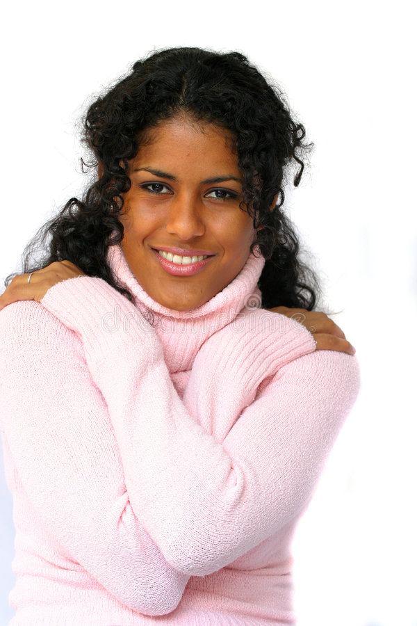 Download Beauty in pink stock photo. Image of black, attractive - 297176