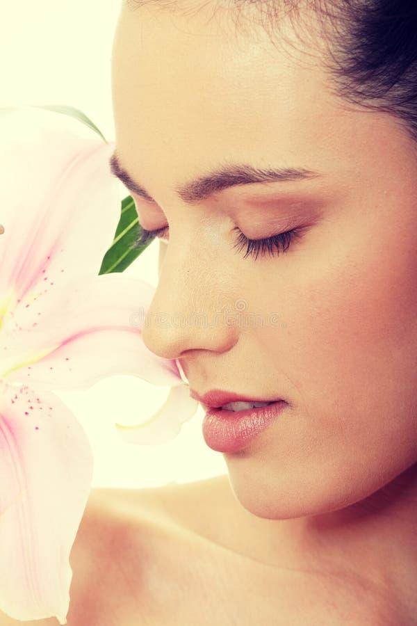 Beauty portrait royalty free stock image