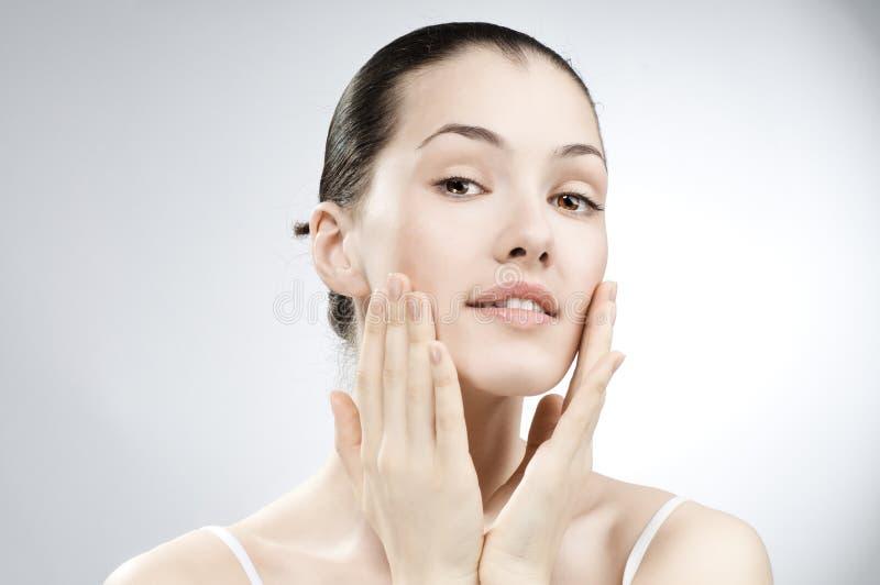 beauty portrait στοκ εικόνα με δικαίωμα ελεύθερης χρήσης
