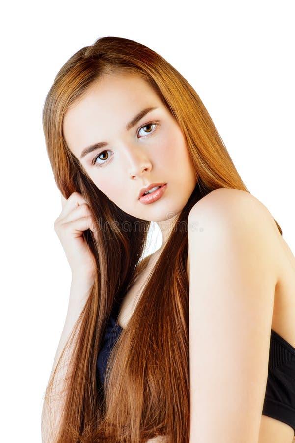 Makeup forever girl royalty free stock photos