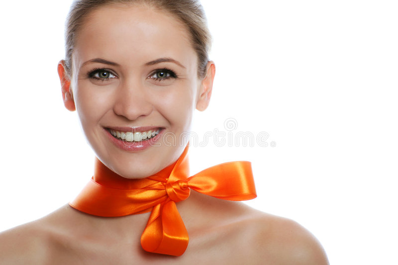 Beauty portrait of a woman royalty free stock photos