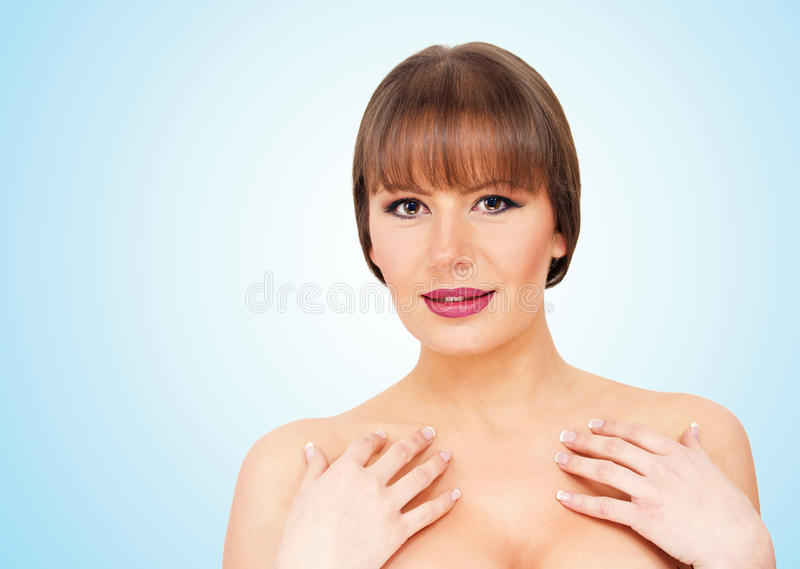 Beauty posing royalty free stock images