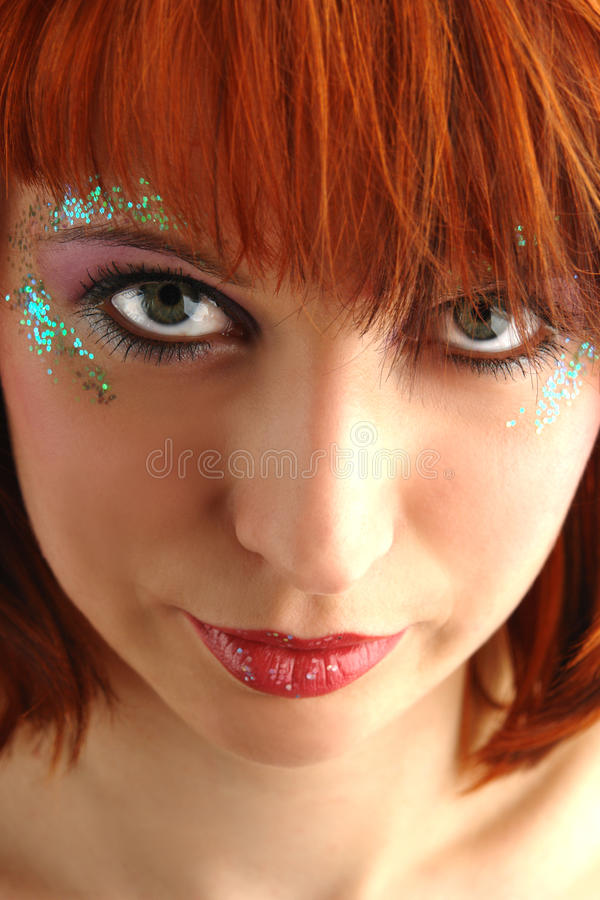 Download Beauty Redhead Woman Portrait Royalty Free Stock Photography - Image: 13628137