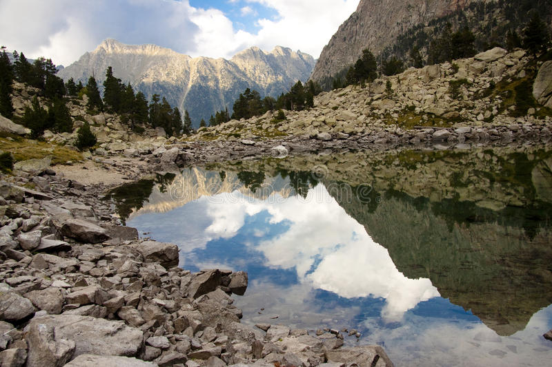 Download Beauty Reflection - Aiguestortes National Park Stock Photo - Image: 14852214