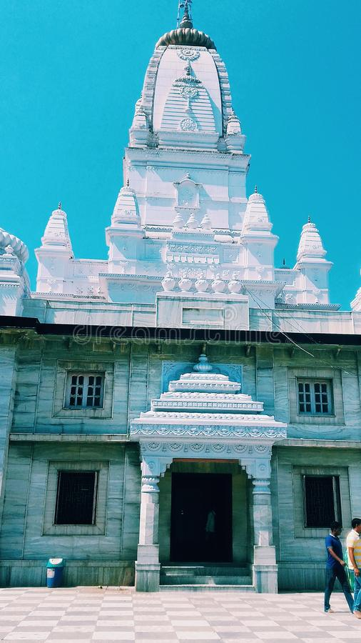 Beauty of the religion. This is an image of gorqkhnath temple at gorakhpur, UP, India..... it describes the beuty of religion stock photography