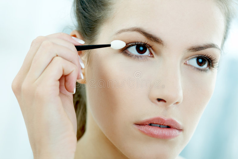 Beauty routines 2 royalty free stock images