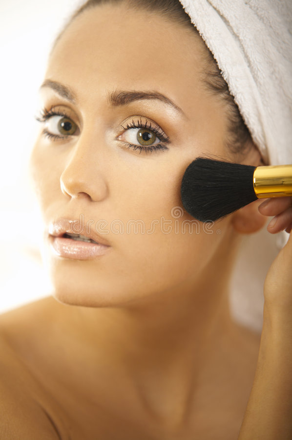 Download Beauty routines stock photo. Image of lifestyle, lady - 3648352