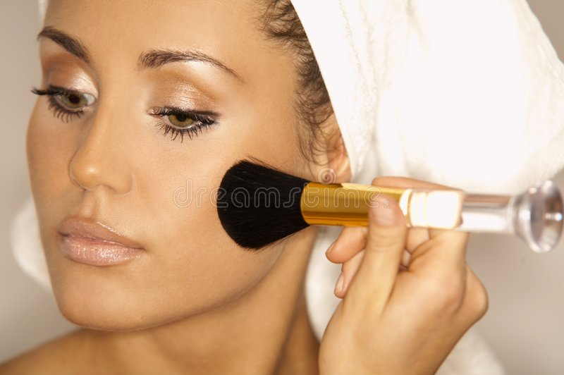 Beauty routines V royalty free stock photos